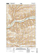 Starbuck East Washington Current topographic map, 1:24000 scale, 7.5 X 7.5 Minute, Year 2013 from Washington Map Store