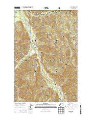 Sun Top Washington Current topographic map, 1:24000 scale, 7.5 X 7.5 Minute, Year 2014 from Washington Maps Store