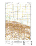 Toppenish SW Washington Current topographic map, 1:24000 scale, 7.5 X 7.5 Minute, Year 2014 from Washington Map Store