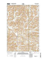 Uniontown Washington Current topographic map, 1:24000 scale, 7.5 X 7.5 Minute, Year 2013 from Washington Maps Store