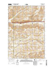Weber Washington Current topographic map, 1:24000 scale, 7.5 X 7.5 Minute, Year 2013 from Washington Maps Store