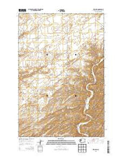 Welland Washington Current topographic map, 1:24000 scale, 7.5 X 7.5 Minute, Year 2013 from Washington Maps Store