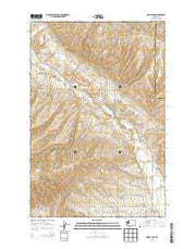 Wenas Lake Washington Current topographic map, 1:24000 scale, 7.5 X 7.5 Minute, Year 2013 from Washington Maps Store