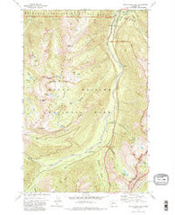 White River Park Washington Historical topographic map, 1:24000 scale, 7.5 X 7.5 Minute, Year 1971