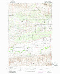 Wiley City Washington Historical topographic map, 1:24000 scale, 7.5 X 7.5 Minute, Year 1958