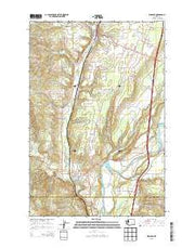 Winlock Washington Current topographic map, 1:24000 scale, 7.5 X 7.5 Minute, Year 2013 from Washington Maps Store