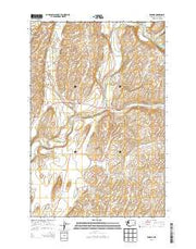 Winona Washington Current topographic map, 1:24000 scale, 7.5 X 7.5 Minute, Year 2013 from Washington Maps Store