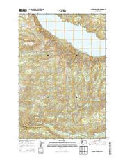 Winters Mountain Washington Current topographic map, 1:24000 scale, 7.5 X 7.5 Minute, Year 2013 from Washington Maps Store