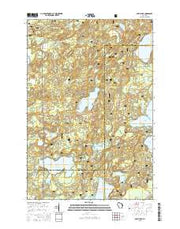 Anvil Lake Wisconsin Current topographic map, 1:24000 scale, 7.5 X 7.5 Minute, Year 2015 from Wisconsin Maps Store