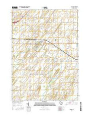 Astico Wisconsin Current topographic map, 1:24000 scale, 7.5 X 7.5 Minute, Year 2015 from Wisconsin Maps Store