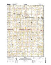 Baldwin West Wisconsin Current topographic map, 1:24000 scale, 7.5 X 7.5 Minute, Year 2015 from Wisconsin Maps Store