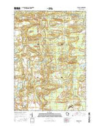 Big Falls Wisconsin Current topographic map, 1:24000 scale, 7.5 X 7.5 Minute, Year 2015 from Wisconsin Map Store