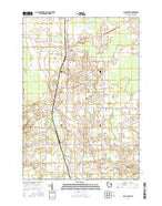 Black Creek Wisconsin Current topographic map, 1:24000 scale, 7.5 X 7.5 Minute, Year 2016 from Wisconsin Map Store