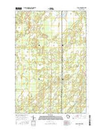 Black Lake Wisconsin Current topographic map, 1:24000 scale, 7.5 X 7.5 Minute, Year 2015 from Wisconsin Map Store