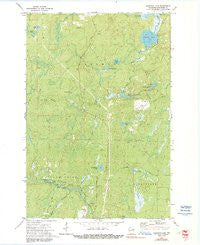 Coleman Lake Wisconsin Historical topographic map, 1:24000 scale, 7.5 X 7.5 Minute, Year 1972