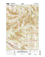 Colfax South Wisconsin Current topographic map, 1:24000 scale, 7.5 X 7.5 Minute, Year 2015 from Wisconsin Map Store