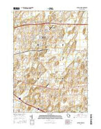 Cottage Grove Wisconsin Current topographic map, 1:24000 scale, 7.5 X 7.5 Minute, Year 2016 from Wisconsin Map Store