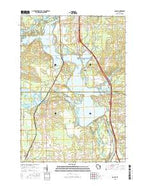 Dancy Wisconsin Current topographic map, 1:24000 scale, 7.5 X 7.5 Minute, Year 2015 from Wisconsin Map Store