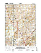 De Forest Wisconsin Current topographic map, 1:24000 scale, 7.5 X 7.5 Minute, Year 2016 from Wisconsin Map Store
