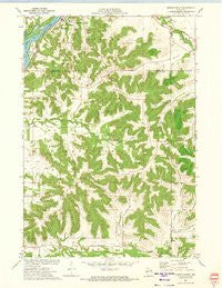Durand South Wisconsin Historical topographic map, 1:24000 scale, 7.5 X 7.5 Minute, Year 1972