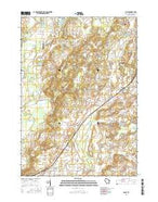 Eagle Wisconsin Current topographic map, 1:24000 scale, 7.5 X 7.5 Minute, Year 2016 from Wisconsin Map Store