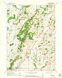 Eagle Wisconsin Historical topographic map, 1:24000 scale, 7.5 X 7.5 Minute, Year 1960