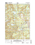Eagle River West Wisconsin Current topographic map, 1:24000 scale, 7.5 X 7.5 Minute, Year 2015 from Wisconsin Map Store