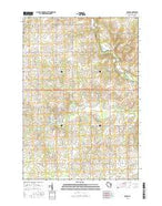 Edgar Wisconsin Current topographic map, 1:24000 scale, 7.5 X 7.5 Minute, Year 2015 from Wisconsin Map Store