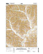 Elk Creek Wisconsin Current topographic map, 1:24000 scale, 7.5 X 7.5 Minute, Year 2015 from Wisconsin Map Store