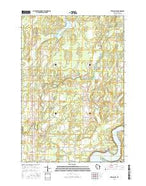 Exeland SE Wisconsin Current topographic map, 1:24000 scale, 7.5 X 7.5 Minute, Year 2015 from Wisconsin Map Store