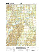 Fireside Lakes Wisconsin Current topographic map, 1:24000 scale, 7.5 X 7.5 Minute, Year 2015 from Wisconsin Map Store