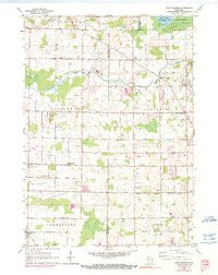 Five Corners Wisconsin Historical topographic map, 1:24000 scale, 7.5 X 7.5 Minute, Year 1959