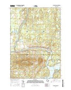 Flambeau Ridge Wisconsin Current topographic map, 1:24000 scale, 7.5 X 7.5 Minute, Year 2015 from Wisconsin Map Store