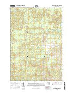 Fromm Lookout Tower Wisconsin Current topographic map, 1:24000 scale, 7.5 X 7.5 Minute, Year 2015 from Wisconsin Map Store