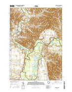 Galesville Wisconsin Current topographic map, 1:24000 scale, 7.5 X 7.5 Minute, Year 2015 from Wisconsin Map Store