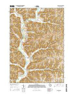Gays Mills Wisconsin Current topographic map, 1:24000 scale, 7.5 X 7.5 Minute, Year 2016 from Wisconsin Map Store