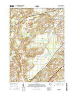 Genesee Wisconsin Current topographic map, 1:24000 scale, 7.5 X 7.5 Minute, Year 2016 from Wisconsin Map Store