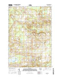 Gillett Wisconsin Current topographic map, 1:24000 scale, 7.5 X 7.5 Minute, Year 2016