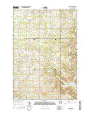 Graytown Wisconsin Current topographic map, 1:24000 scale, 7.5 X 7.5 Minute, Year 2015 from Wisconsin Maps Store