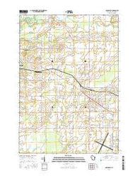 Greenville Wisconsin Current topographic map, 1:24000 scale, 7.5 X 7.5 Minute, Year 2016