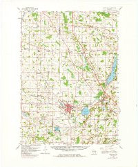 Hartford Wisconsin Historical topographic map, 1:62500 scale, 15 X 15 Minute, Year 1959