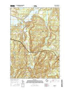 Hauer Wisconsin Current topographic map, 1:24000 scale, 7.5 X 7.5 Minute, Year 2015 from Wisconsin Map Store