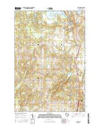 Haugen Wisconsin Current topographic map, 1:24000 scale, 7.5 X 7.5 Minute, Year 2015 from Wisconsin Map Store