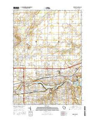 Kaukauna Wisconsin Current topographic map, 1:24000 scale, 7.5 X 7.5 Minute, Year 2016
