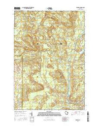Keshena Wisconsin Current topographic map, 1:24000 scale, 7.5 X 7.5 Minute, Year 2016