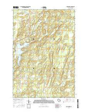 Lake Winter Wisconsin Current topographic map, 1:24000 scale, 7.5 X 7.5 Minute, Year 2015 from Wisconsin Maps Store