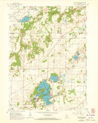 Little Prairie Wisconsin Historical topographic map, 1:24000 scale, 7.5 X 7.5 Minute, Year 1960