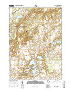 Little Prairie Wisconsin Current topographic map, 1:24000 scale, 7.5 X 7.5 Minute, Year 2016 from Wisconsin Map Store