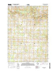Little Rose Wisconsin Current topographic map, 1:24000 scale, 7.5 X 7.5 Minute, Year 2015 from Wisconsin Maps Store