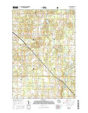 Lublin Wisconsin Current topographic map, 1:24000 scale, 7.5 X 7.5 Minute, Year 2015 from Wisconsin Maps Store